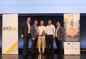 PMT Security wins award at Axis Communications Partner Summit